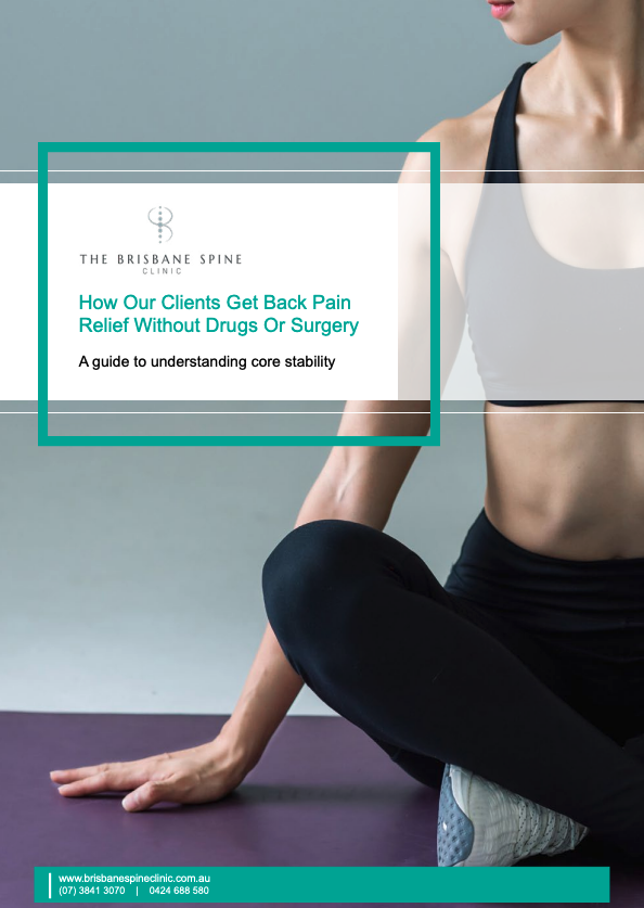 Brisbane Spine Clinic eBook Cover
